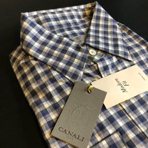Canali flannel large NEW